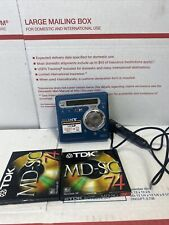 Sony Mz-R700 - Mdlp Minidisc Recorder Works Great!
