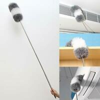 Extendable Feather Duster Long Telescopic Duster Magic Static Duster Brush 245cm