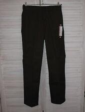 L32 Gerades-Bein Herrenhosen im Sonstige Freizeithosen-Stil mit Unifarben