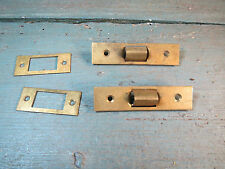 2 entrées fermeture serrure  laiton gache restauration décoration meuble, portes