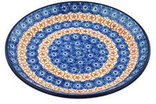 "Polish Pottery Plate 8"" Ceramika Artystyczna Boleslawiec Hand Made"