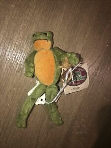Hopper Ganz Cottage Collectibles By Lorraine 1997 Green Frog Hopper CC022