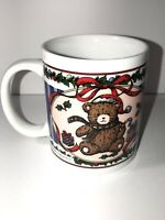 Christmas Holiday Teddy Beat Coffee Mug Cup Miyazaki