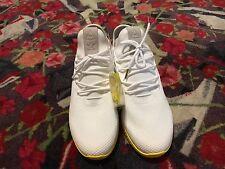 Adidas Pharrell Williams tennis HU white/yellow primeknit forest hills humanrace