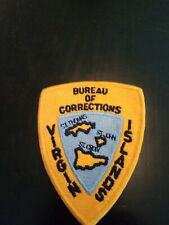 Virgin Islands Police corrections Department Patches