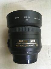 Nikon Nikkor AF-S DX 35 mm F/1.8G Lens, very sharp copy!