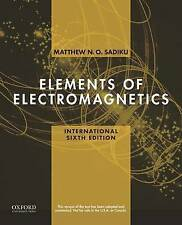 Elements of Electromagnetics (The Oxford Series in Electrical and Computer Engin