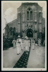 Zagourski white people Ethnic black Africa Belgian Congo original c1930 postcard