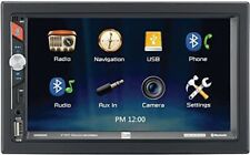 Dual Dm620N 7-Inch Double-Din In-Dash Mechless Receiver with Built-in Navigation