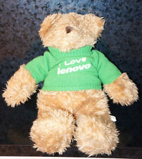 "18"" I LOVE LENOVO TEDDY BEAR Computer Laptop Lovers Sweater Shirt Holiday Gift"