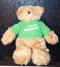 "18"" I LOVE LENOVO TEDDY BEAR Computer Laptop Lovers Sweater Shirt Holiday Gift"