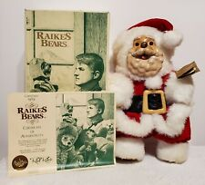 "Robert Raikes Collectibles - Santa Bear, LE, 15"" tall, Made 1989, Box & COA incl"