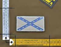 "Ricamata / Embroidered Patch ""Dixieland Flag"" Subdued with VELCRO® brand hook"