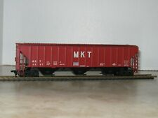 """Athearn HO Scale 3-Bay Covered Hopper """" M K T"""""""
