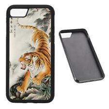 Oriental Tiger RUBBER phone case Fits iPhone