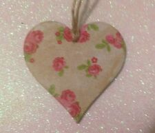 Pretty,Wooden Heart, Shabby Chic,Vintage Style Home Decor Can Be Personalised