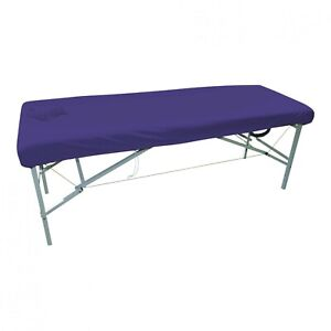 x1 LAVENDER Plain Couch Cover For Massage Table without Face Hole Therapy New