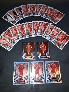 Match Attax 12/13 Southampton Set Inc MOTM Cards & James Ward-Prowse Rookie Card