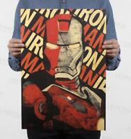 2019 Iron Man / classic movie posters / kraft paper / Bar Room Wall Decor