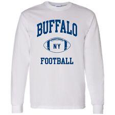 Buffalo Classic Football Arch Unisex Long Sleeve T-Shirt