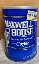 Maxwell House Good to the Last Drop KRAFT Play the Game of Life Tin Can - Full