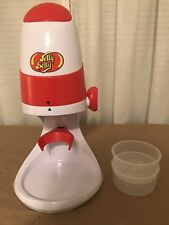 Electric Ice Shaver Snow Cone Machine Jelly Belly.