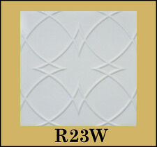 R23W ETA WHITE STYROFOAM GLUE UP TEXTURE 20x20 CEILING TILES