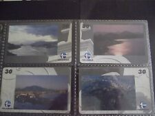 VICTORIA CITY 448 YEARS 1999 (1) Set of 4 Different Phone Cards from Brazil