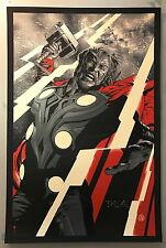 Martin Ansin THOR VARIANT Mondo Movie Print Poster Limited Edition