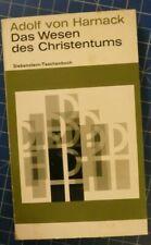 Adolf von Harnack Das Wesen des Christentums Siebenstern Taschenbuch 1964 H5067