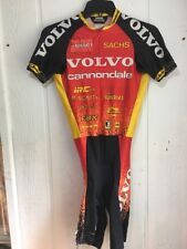 Libor Karas Volvo Cannondale Skinsuit Vintage  Short Sleeve Not Perfect, AS IS !