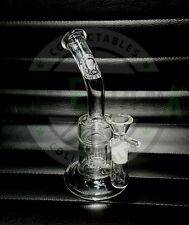 Basil Bush 15cm Premium Glass Percolator Waterpipe Bong