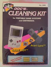 Doc's Cleaning Kit for portable game systems and cartridges GAMEBOY/ATARI NIP