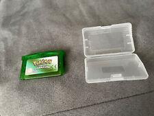 Pokémon Version Emeraude Nintendo Game Boy Advance GBA