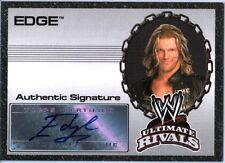 WWE Edge 2008 Topps Ultimate Rivals Authentic Autograph Card