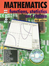 Mathematics for Year 11 Functions Statistics and Chance HAESE Maths Book&CD