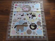 Handmade/ Homemade Baby Quilts-  County FairBaby Farm Animals