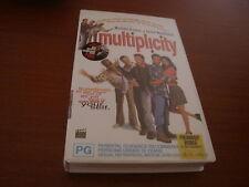 MULTIPLICITY - MICHAEL KEATON & ANDIE MACDOWELL  - VHS VIDEO