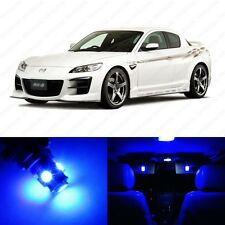 8 x Ultra Blue LED Interior Lights Package For 2004 - 2011 Mazda RX-8 RX8