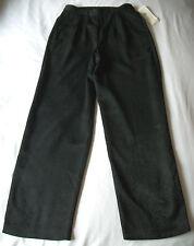 WMNS S / M BLACK SILKY DRESS PANTS SNAKESKIN PATTERN by NORTON MCNAUGHTON *NWT*