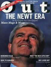OUT gay mag 3/95 Newt Gingrich politics