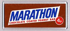 MARATHON BAR large FRIDGE MAGNET - CLASSIC 70's COOL