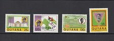 A028 Guyana 1986 President flags 4v. Mnh