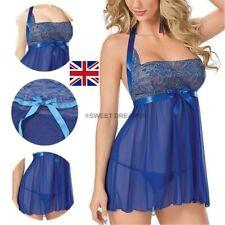 """Women's BabyDoll  """"Sexy Lingerie"""" Nightwear Dress Plus G-String. S:Med. L@@K!"""