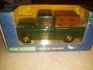 John Deere 1955 Pickup Truck Bank 1/25