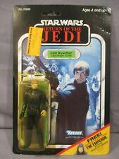 STAR WARS Vintage JEDI LUKE SKYWALKER 65-Back Return of the Jedi ROTJ 1984