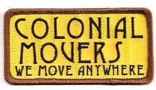 """Battlestar Galactica Colonial Movers 4"""" Yellow Logo Patch-Free S&H (Bgpa-29)"""
