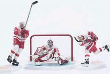 McFarlane DETROIT RED WINGS 3-Pack White Jersey Yzerman Hull Joseph NHL Set
