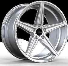 19x8.5 Advanti Racing Cammino 5x112 +35 Silver Wheels (Set of 4)