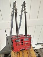 The Dos Nequis - cigar box guitar style double neck three (6) string